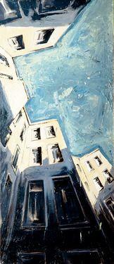 """Saatchi Online Artist Helge Windisch; Painting, """"berliner himmel"""" #art"""