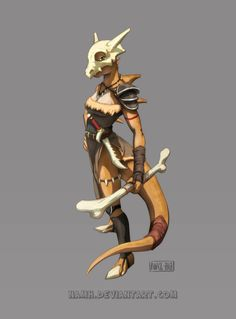 Cubone warrior by Namh Fantasy Character Design, Character Creation, Character Concept, Character Inspiration, Character Art, Dungeons And Dragons Characters, Cute Characters, Fantasy Characters, Pokemon