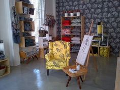 We love our new showroom! Be sure to come visit soon! Fabric Display, Cape Town, Dollhouse Miniatures, Showroom, Fabrics, Inspiration, Tejidos, Biblical Inspiration, Doll House Miniatures