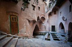 Ancient Roman baths in Cefalu, Sicily