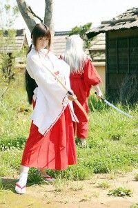 Kikyo e Inuyasha *inuyasha*