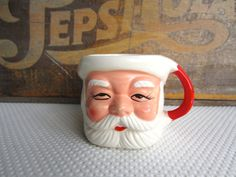 Vintage Santa Mug made in Japan by corrnucopia on Etsy, $5.00
