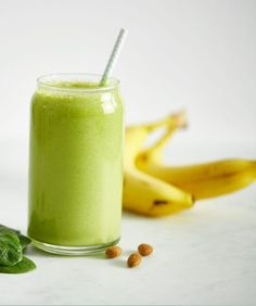 6. Classic Green Monster Smoothie #protein #smoothies #recipes http://greatist.com/eat/high-protein-smoothie-recipes