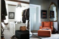 Ønsker meg en slik stol til soverommet.lesestol helt for meg sjøl. Fine Hotels, Just Style, Interior Design Inspiration, Interior Ideas, Walk In Closet, Postmodernism, William Morris, Coastal Living, Armchair