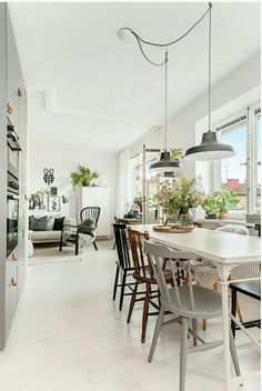 dining room 296463587949608338 - Source by lillyrosed Dining Room Images, Dining Room Design, Decoration Ikea, Appartement Design, Home Decor Pictures, Cheap Home Decor, Apartment Living, Home Interior Design, Home Remodeling