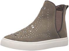 Report Women's Alisa Fashion Sneaker, Olive, 8.5 M US -- More details @
