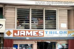 You just call out my name, and you know wherever I am I'll come running to sew you something. 23 Filipino Stores That Were Named By Absolute Geniuses Funny Names, Funny Signs, Force One, My Name Is, Filipino, Puns, Graham, Philippines, Mountain