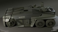 Inspired by the awesome art from Scott Robertson, and made specially for the HP vehicle modeling competition, here's my entry. Cyberpunk, Scott Robertson, Terrain Vehicle, Futuristic Cars, Shadowrun, Sci Fi Ships, Armored Vehicles, War Machine, Concept Cars