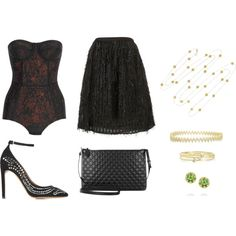 """""""Sandy"""" by loeswhite on Polyvore"""
