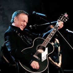 Neil Diamond- several times & proud of it!