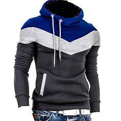 Herren Kapuzenpullover Colour-Block Hoodie Pullover(46,Irongrey) Fashion Season http://www.amazon.de/dp/B00OOM80BG/ref=cm_sw_r_pi_dp_T3zEub151KKFW