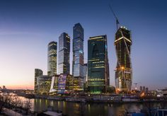 Moscow City by G. Barinov on 500px