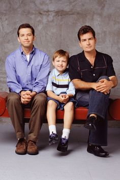 Two and a half men - another of his favorites - he used to kid me because I kept calling it Three and a Half Men for some reason. I did it again posting this and wondered why I couldn't find it.
