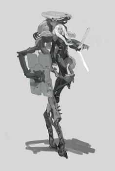 ArtStation - Maxim Marenkov's submission on Beyond Human - Character Design