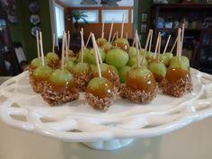 Caramel Grapes from www.MennoniteGirlsCanCook.ca