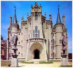 Gaudí: palacio episcopal de Astorga.Spain.