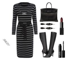 For Anytime Style Calls by flybeyondtheskies on Polyvore featuring Hermès, 1928 and NARS Cosmetics