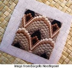 Bargello is really Needlepoint  -  needlework.craftgossip.com