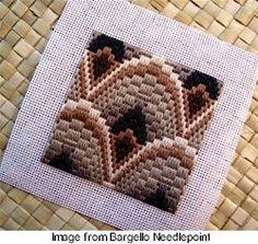 Bargello is really Needlepoint  -  needlework.craftgossip.com