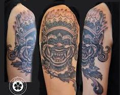 Risultati immagini per thai mask tattoo
