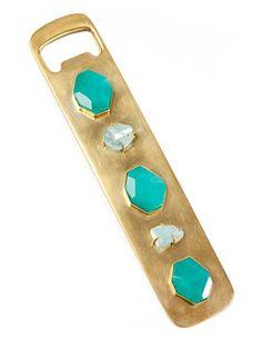 Kelly Wearstler Bejeweled Bottle Opener