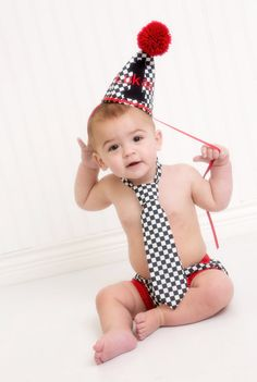 Personalized baby boy smash the cake outfit/ photo by SMPstore, $42.00