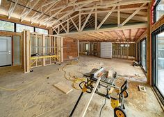 Steenhof helped us engineer the truss to hold the existing roof without any beams or columns. Good planning in tight renovations such as this can really change a space.  Building Design by: @corbinpatten Construction by: @cameroncontractingltd Windows and Doors by: @pellawindows and @lakeland_windows_and_doors Engineering by: Steenhof Building Services Group  #architecture #muskoka #archdaily #cottage #construction #muskokaconstruction #lakelife #walkerspoint #lakemuskoka Lake Life, Columns, Windows And Doors, Building Design, Beams, Engineering, Construction, Cottage, Change