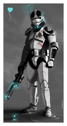 Trooper Concept by VoodooHeartsCircus.deviantart.com on @deviantART