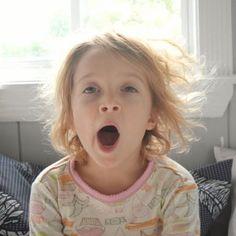 Causas de las ojeras en los niños.