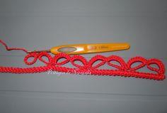 Barrado com base em cordões de croche ...          PAP  - Resumido :