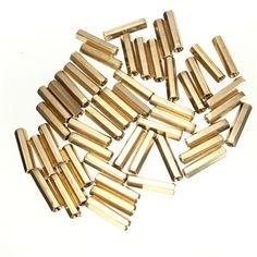 Best Promotion New 50pcs/lot M3 20mm Hexagonal Net Nut Female Brass Standoff/Spacer Long Lasting #shoes, #jewelry, #women, #men, #hats