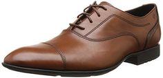 Rockport Men's Dialed In Cap Toe Shoes - [UK & IRELAND]