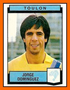 Jorge Domínguez  Nice, Toulon – 1985-86, 1986-88 Un buteur ce Dominguez mais surtout en Division 2 il faut l'avouer