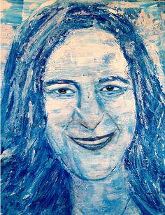 Liesbeth Sijsling - De componist , Calliope Tsoupaki - acrylverf