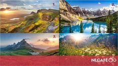 Melyik hegyet másznád meg a legszívesebben? Melyik kép a legcsodásabb? Választásod izgalmas részletet árul el a személyiségedről.