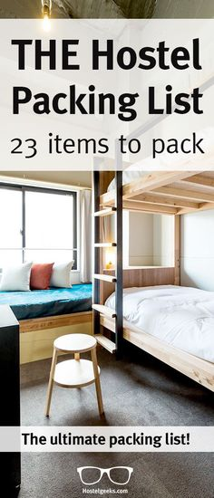 A hostel packing list comes always pretty handy, right?! Ahh, the eternal travel question – what on earth should I pack for traveling and staying at Hostels? We had a look around and all those packing lists for hostels we found, were pretty outdated. Nothing to do with the modern backpacker, the new generation with SmartPhones, Cameras and Tablets. Read our article at hostelgeeks.com/...
