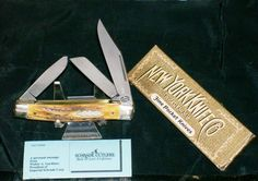 New York Knife NYK8S Bone Stag Stockman Walden USA W/Original Packaging,Papers @ ditwtexas.webstoreplace.com