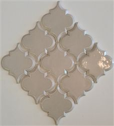 Beveled Arabesque- Vento Grey