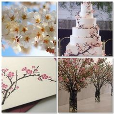 Image detail for -All About Wedding: Cherry Blossom Wedding Theme Ideas Cherry Blossom Theme, Cherry Blossom Wedding, Cherry Blossoms, Spring Wedding, Dream Wedding, Wedding Day, Wedding Stuff, Wedding Dress, Wedding Colors