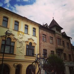 Walk around Pardubice city centre - it's been revamped recently, but here's how it looked during the renovations
