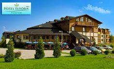 Hotel Eufória*** v Tatrách Mansions, House Styles, Home Decor, Decoration Home, Manor Houses, Room Decor, Villas, Mansion, Home Interior Design