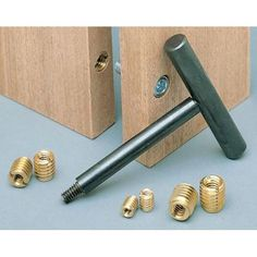 Brass Threaded Inserts for knockdown furniture