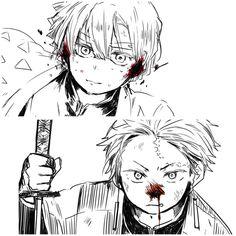Demon Slayer, Ship Art, Bungou Stray Dogs, Touken Ranbu, Anime, All Art, Fandoms, Cartoon, Manga