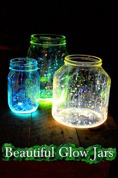 Beautiful Glow Jars