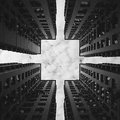 perfect symmetrische foto