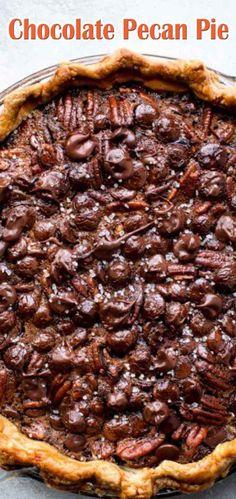 Chocolate Pecan Pie Easy Recipe