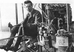 """msflamingo:  04 November, 1909: First pig to fly """"The first flight of a pig took place at Leysdown, Kent, England. Lord Brabazon of Tara took the pig for a flight of about 3.7 miles from Shellbeach airfield on the Isle of Sheppey."""""""