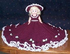 Jacqueline Bed Doll Pattern By Ricochet 1950
