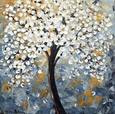 Abstract Tree Paintings | Abstract Trees Painting