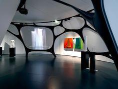 Une Architecture at the Mobile Art Pavilion by Zaha Hadid - Dezeen